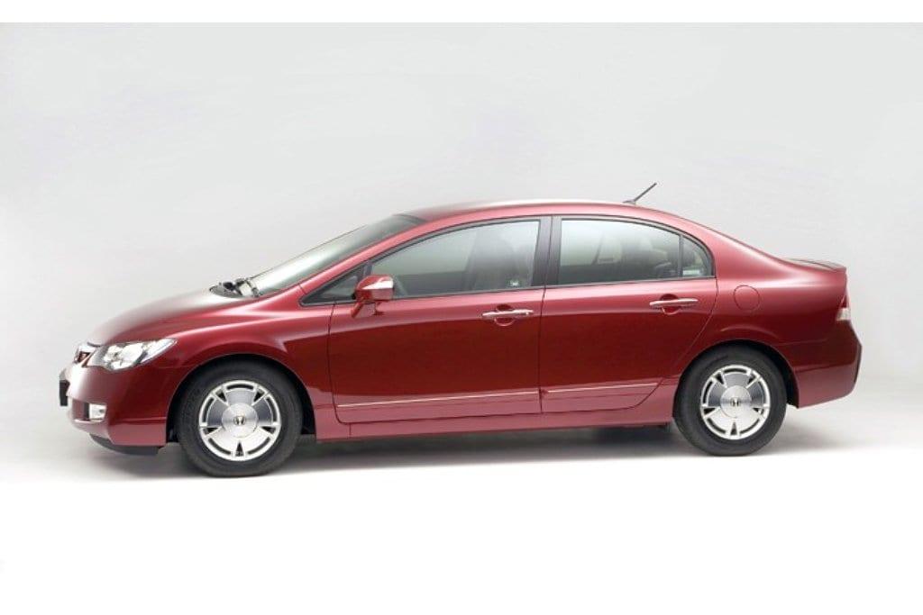 Honda Civic Hybrid Verdringt Toyota Prius Auto Kraaiven Auto Herven