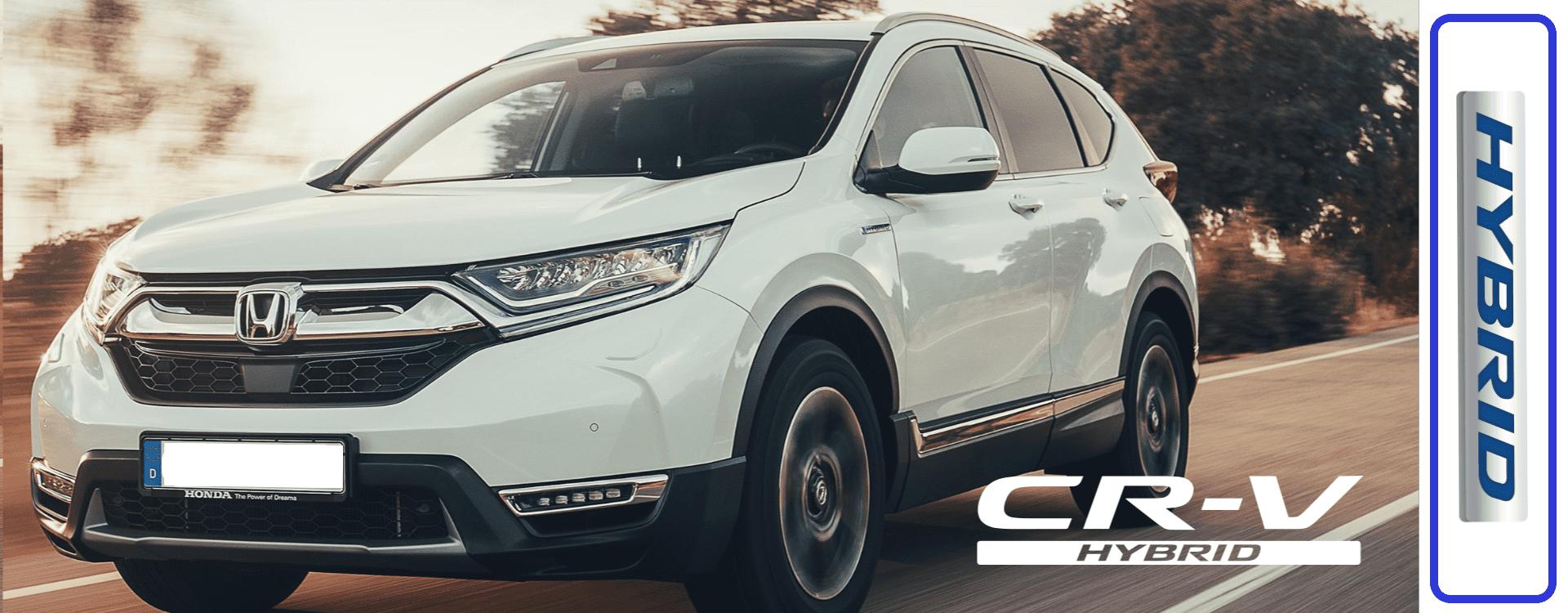 De nieuwe CR-V Hybrid